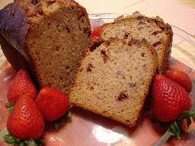 ストロベリー・クイックブレッド(Strawberry Quick Bread)