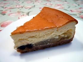洋梨のチーズケーキ