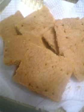 ホットケーキミックスときなこのクッキー
