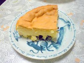 プルーンのシンプルケーキ