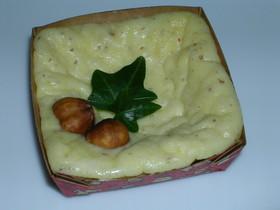 チョコとナッツのチーズケーキ