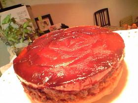 タルトタタン風アーモンドケーキ