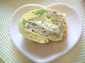 ☆小豆&枝豆の米粉ベジロールケーキ☆