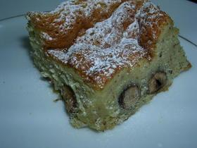 ヘーゼルナッツのホワイトガトーショコラ