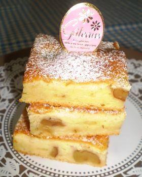 クルミのチーズケーキ☆
