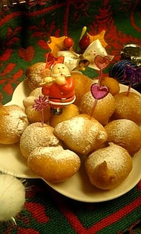 すぐできる♪クリスマスドーナツ