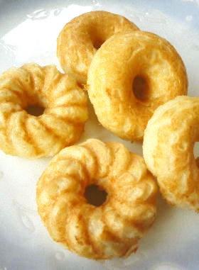 ドーナツメーカーで 焼きおからドーナツ