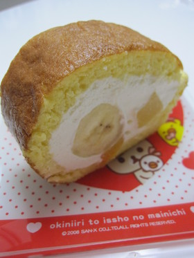 ホットケーキミックスでロールケーキ☆