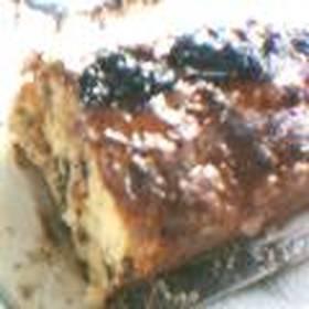 クルミとプルーンのパウンドケーキ