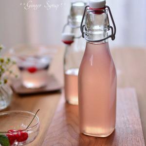 秋始めも自家製ジンジャーシロップを使ったレシピでじんわ〜り元気に。