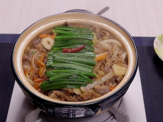 スタミナ焼肉鍋♪ ~たっぷり野菜で!~ - クッキングSパパのキッチン ...
