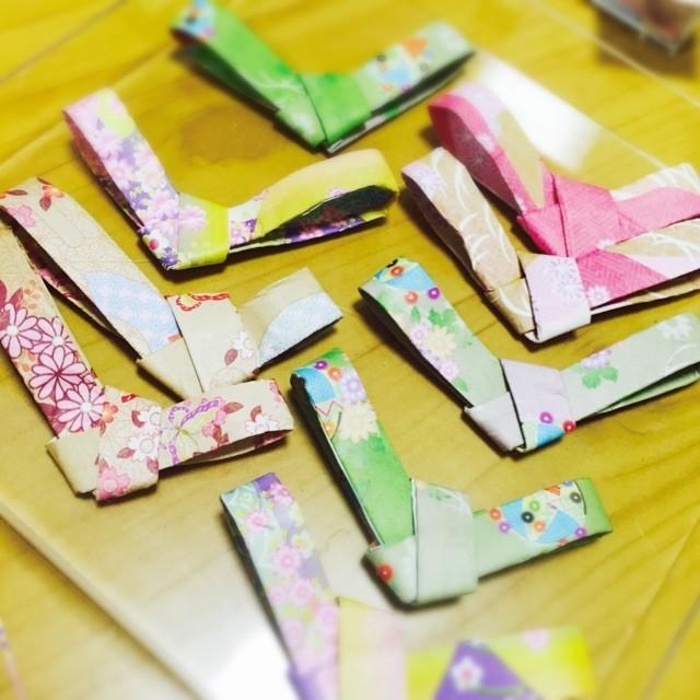 クリスマス 折り紙 箸置き 折り紙 : 10281243.cookpad-blog.jp