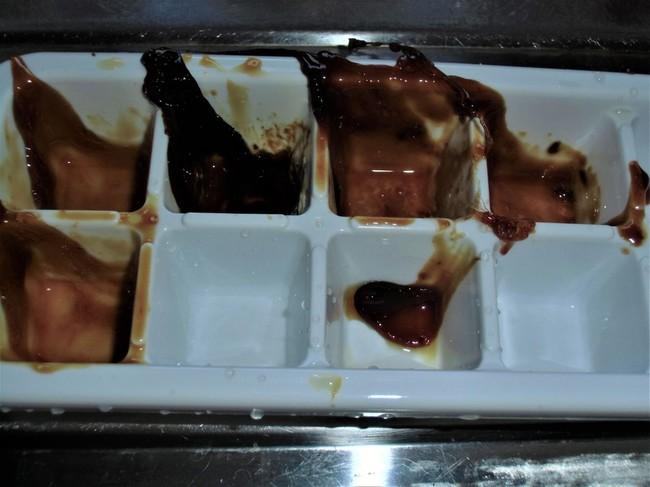 製氷皿、融解