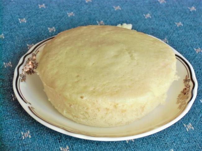 ブルーベリーヨーグルト蒸しパン