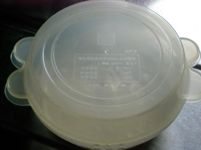 水受け皿をかぶせて蓋にする