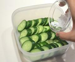 野菜や果物から水が出てくる不思議