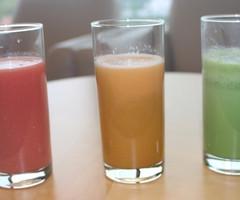 自分好みのオリジナル野菜ジュースを作ってみよう!