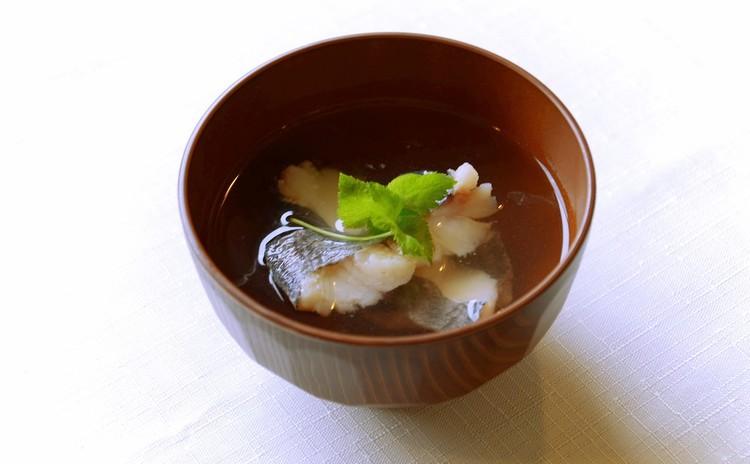 白身魚のすまし汁