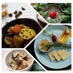 美味しく簡単!もっちり玄米♪楽しく作ろう!白和カナッペ、サブジ