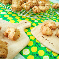 【親子レッスン】どう違う?!小麦粉と米粉でクッキー対決!!