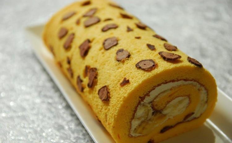 夏を乗り切るお菓子!ヒョウ柄バナナロールとレモンケーキ
