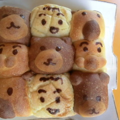 夏休み限定★親子レッスンDE動物&キャラクターちぎりパン