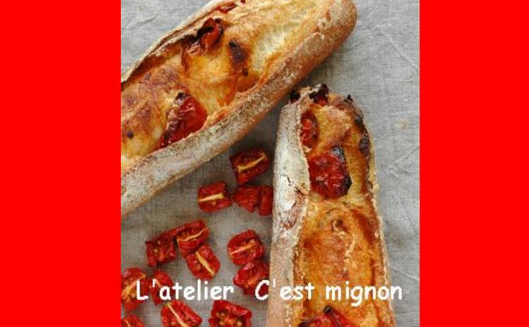 バリッと焼くフランスパン!自家製セミドライトマト他&チキンレモンスープ
