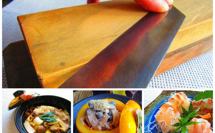 正しい包丁の研ぎ方とお刺身を使って基本の包丁の使い方⭐️