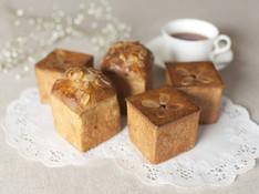 料理レッスン写真 - カスタードレッスン付き!紅茶のキューブパンと紅茶のクリームキューブパン