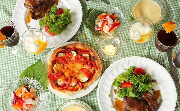 【薬膳】夏を乗り切るイタリアン☆ピッツァも作ります!