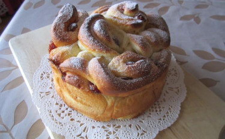 クランベリーミルク~クランベリーとコンデンスミルクのスウィーツパン
