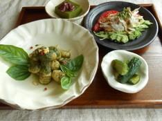 料理レッスン写真 - 夏に必須の自家製無添加 極上ジェノベーゼともちもちのお豆腐ニョッキ!他