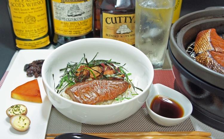燻製魚介丼!自宅で出来る『燻製料理』&レア物スコッチウイスキー飲み比べ