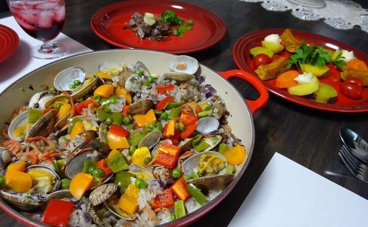 お料理で巡る世界の旅 ~スペインの旅・パエリヤ~