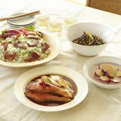何度でも作りたい基本の家庭料理 魚の照り焼き・混ぜ寿司・ひじきの煮物