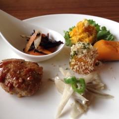 食物繊維たっぷり!ごぼう、きのこ、南瓜で常備菜。簡単カフェ風ランチ!