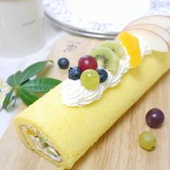 パティスリーの人気者♡フルーツロールケーキ