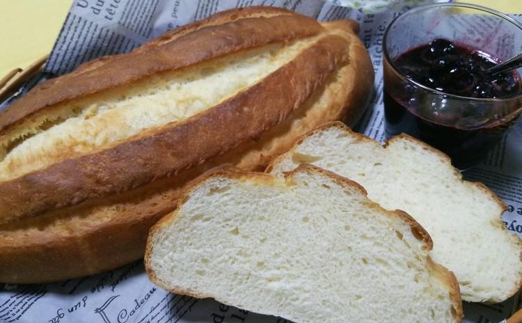 バターが香る大きなミルクブレッドとお手軽コンフィチュール