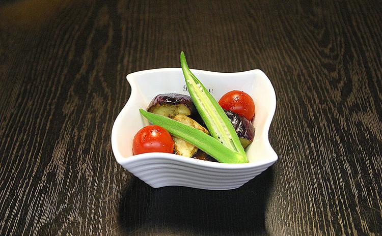 新鮮野菜のマリネ