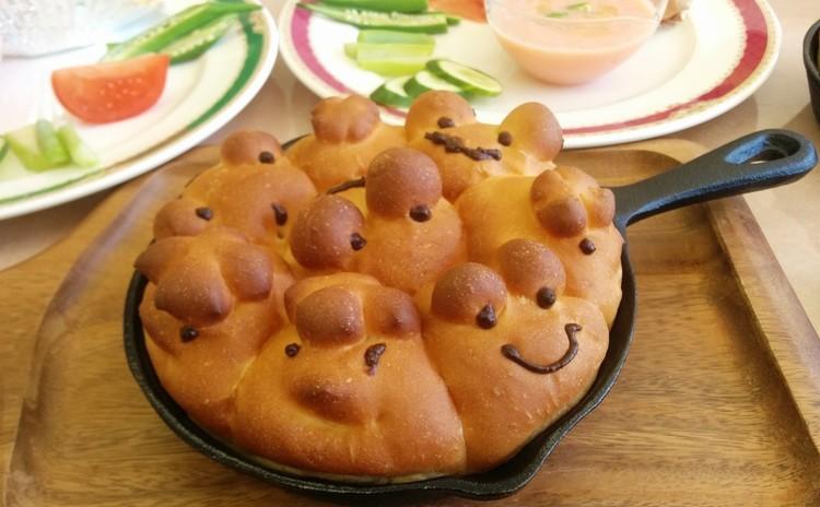ミニフライパン スキレット活用法 ちぎりパン&オレンジダッチベービー