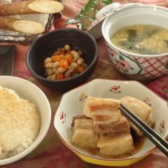 【リクエスト開催】ヘルシーな豚の角煮~圧力鍋の活用法をマスターしよう