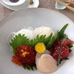 計量スプーンを使わない!手作りいくらとマグロ漬けの海鮮チラシ&茶碗蒸し