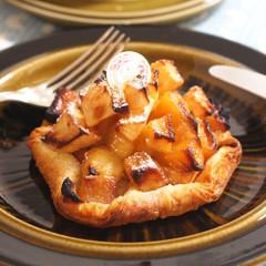 秋の味覚満載紅玉で作るアップルパイ&ハロウィン濃厚パンプキンプディング