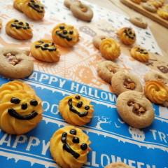 ハロウィンに!かぼちゃのクッキーとライ麦クッキーを作ろう!!