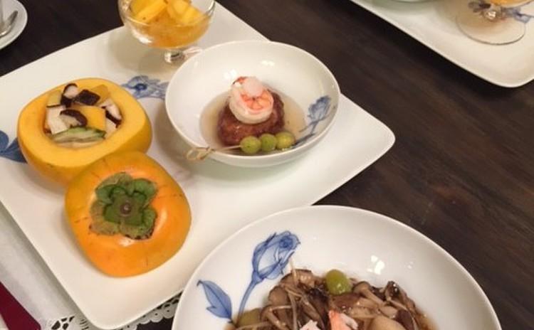 食べる人たちに笑顔の贈り物-秋の食卓ー