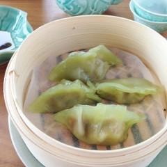 計量スプーンを使わない皮から作る翡翠餃子&ごま担々麺