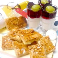 人気の焼き菓子サクサクフロランタン&ふんわり白ワインムース