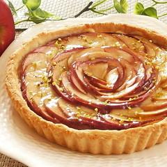 今が旬!紅玉りんごで作る ノンバター生地のタルト・オ・ポンム