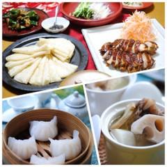 11日29日、日程追加大人気(ぷりぷりえび蒸し餃子)北京ダック風チキン
