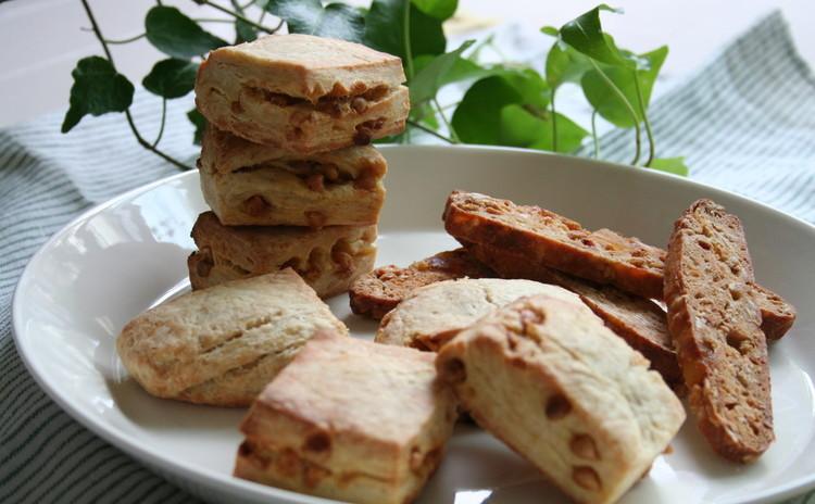 自家製酵母で焼き菓子!キャラメルスコーン&グラノーラビスコッティ